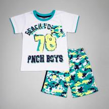 Комплект летний с камуфляжной расцветкой (шорты с футболкой)